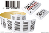 Commodity Barcode adhesive sticker price label printing custom merchandise stickers labels commission 1000PCS/lot free shipping