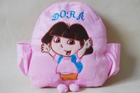 dora the explorer adventureous baby School shoulder  bags  plush Backpack toys for girls Mochila The Knapsack free shipping