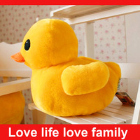 Famous Hongkong yellow duck plush toys as birthday present for kids