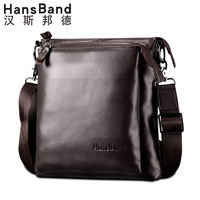 Commercial 2013 cowhide man bag casual bag male genuine leather bag shoulder cross-body bag