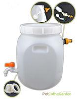 Water Tank Butt Kits Tap Float Valve Nut Fitting Hose Adapter Sealing Tape Small Kit