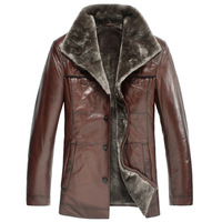 Commercial wool fur fashion sheepskin one piece genuine leather fur clothing men's clothing n8305