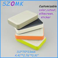 4 pieces a lot  custom electronics enclosures 112*70*23 mm 4.41*2.76*0.91 inch  electronics project box