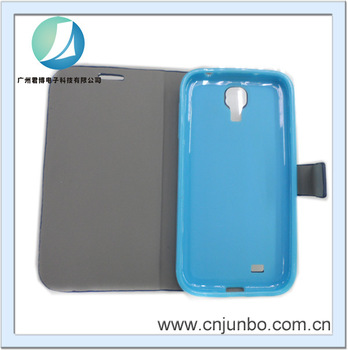 2013 hot sale cell phone cases manufacturer wholesale pu leather case for samsung s4