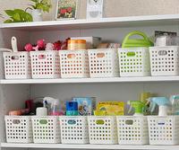 MINI ORDER $20 (CAN MIX OEDER) Inomata plastic storage basket storage box bathroom storage basket desktop finishing basket