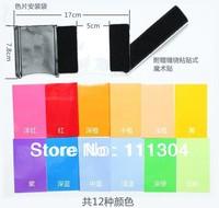 promotion  12pcs Strobist Flash Color card diffuser Lighting Gel Pop Up Filter for camera