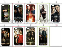 hot!Unique Newest Designs!!wholesale 9PCS  Supernatural Poster hard white case back cover for iPhone 4 4th 4G