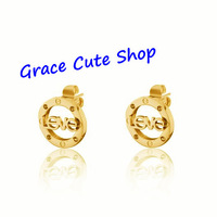 Free Shipping Leve Earrings Famous Designer Jewelry Top Quality Package (Card,Dust Bag,Original Box) #CTE39