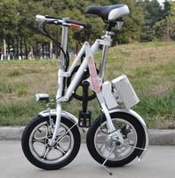 "E-BIKE One second folding electric vehicles, 14"" lithium electric bicycles bike, electric bicycle, folding electric bike"