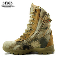 High desert boots male combat boots Camouflage 511 tactical boots  army boots  Outdoor shoes