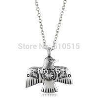 Ptarmigan Thunderbird Pendant Necklace