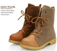 Comfortable cowboy boots women winter shoes