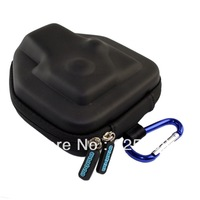 gopro Case Hard Bag Cover for Gopro 2 3 Hd Hero2 Hero 3 Camera + climbing hook buckle