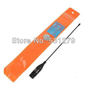 5x BNC UHF+VHF Handheld Radio Antenna for TK100 TK200 IC-V8 IC-V80 IC-V82 IC-U82 ICOM NAGOYA NA-666 walkie talkie J0250A