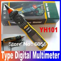 New Pen Type Digital Multimeter Auto Range PEN TYPE METER Conform to the IEC1010-1 Standard CAT III 600V YH 101 Free Shipping