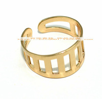 Ring golden color