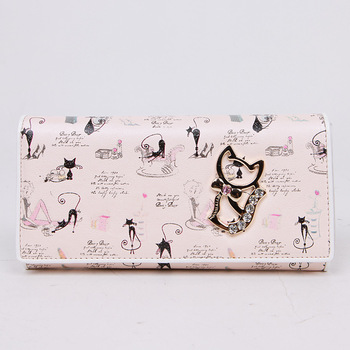 Betty boop sweet women's wallet long design BETTY a6287-10-20 lucky cat wallet