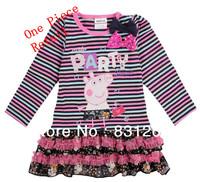 Free Shipping Hot Selling Girls Dresses Retail Princess Patterns Children Clothing Cartoon Design Peppa Pig Kids Dress