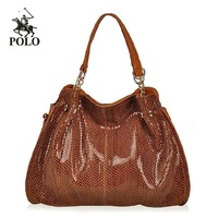 2013  Genuine leather women's handbag first layer of cowhide large bag
