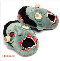 ThinkGeek Plush Zombie Slippers ,alternative punk zombie zombie flavors home slippers men slippers floor