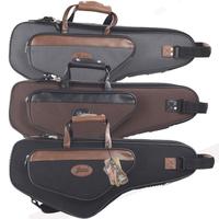 Alto sax bag oxford bag bags portable case backpack musical instrument bag handbag black red grey Wine