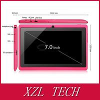 80pcs/lot DHL Free Shipping XZL Big batery (3000mA) allwinner a23 Dual Core Q88 Tablet Capacitive Screen  WIFI (customized logo)