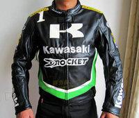 High qulity leather revestimento da motocicleta motorcross jackets winderproof  waterproof winter Racing jacket size S -- XXL
