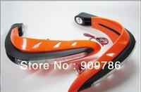 Hot selling !! Free shipping! LED ATV Handguards Universal motorcycle motocross dritbike MX ATV dual road handguards As Acerbis