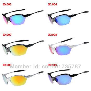 Mens HALF X O Brand Sunglasses Italy Designer Brand New Retro Sunglasses Mirror Glasses Free Shipping