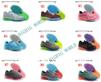 Free Shipping New Arrived 2014 Sports Shoes Men Running shoes Womens Athletic Shoes Max Mix Order top Quality! size:36-46!