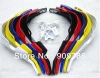 Free shipping !! ATV Handguards, motocross Gauntlets ,7 colors Motorcycle Handguards Handlebar Brush Guards For KTM motocycles