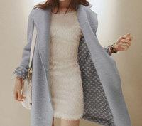 Autumn and winter 2013 women's trench ladies small medium-long woolen outerwear woolen overcoat