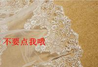 Luxury bridal veil silveryarn embroidery paillette lace 3 meters ultra long 5 meters 10 meters veil
