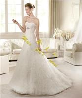 2013 full lace tube top the bride wedding dress short trailing fashion simple slim waist sexy wedding dress