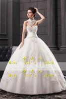 2013 new arrival wedding dress tube top wedding dress white wedding dress princess wedding dress