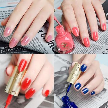 Eco-friendly sweet city nail polish oil milk tea color nude color candy color bride nail art