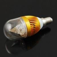 Wholesale 10pcs E14 Warm White Round 12W LED Crystal Light LED Spot Light Bulb Lamps, Free Shipping