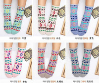 QF 2013 NEWEST  nation design woman cute socks 10 pairs multicolour high quality shiping free