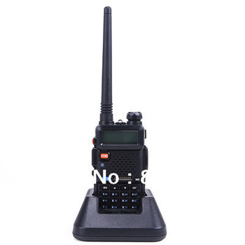 New Portable BAOFENG UV-5R 136-174/400-480Mhz Dual Band UHF/VHF Radio Interphone