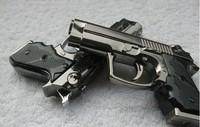 Hot Selling Pistol Gun Shape Refillable Butane Gas Lighter Cigarette Cigar Z1013 Free Shipping Singapore post office