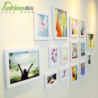 Eco-friendly waterproof wall photos modern brief photo frame photo wall 15 box b
