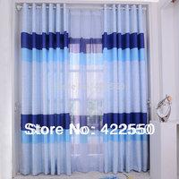 Blackout curtains custom blue modern minimalist living room bedroom children's room for boys