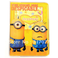 Despicable me Milk Small Passport Cover Passport Holder Passport Bag PVC Materials