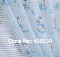 Specials / cartoon puppy / bedroom / children's room Voile Curtain Boys