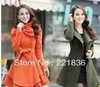 Free Shipping Women's wear comfortable leisure show thin cashmere coat coat