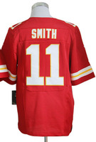 2013 New Arrival cheap USA Football Elite Jersey #11 alex smith jerseys Red Elite Jerseys Men's Size 40-56 All Stitched(Sewn on)