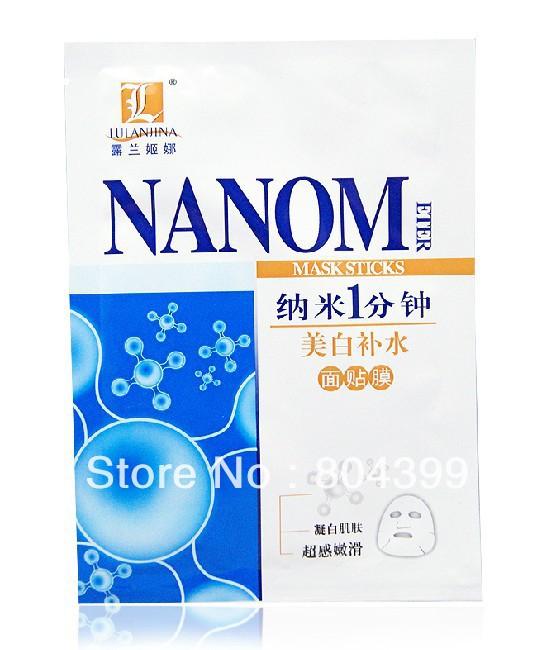 Наивысшее Lulanjina Nano отбеливание и увлажнение в течение 1 минуты маску (питательная и против морщин) 5 шт./лот мастурбатор nano toys nano
