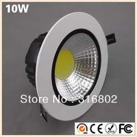 LED Downlight  Lighting 10W  1000LM  LED COB Lamp AC85-277V  Free DHL