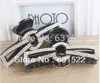 Hot selling 2014!Free Shiping Fashion Rhinestone hair claw Jewelry Crystal Lady Hair Accessories