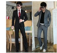 Free shipping / 2013 new winter men's fashion suit + trousers for / Cultivate one's morality suit